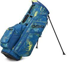 New Ogio Golf 2021 Woode' 8 Hybrid Stand Bag COLOR: Floral 8-Way Top