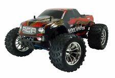 1:10 Volcano S30 RC Nitro Monster Truck 4WD Off Road 2.4GHz Red New