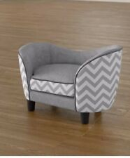 Grey Dog Sofa Bed Perfect Sleeping and Resting Place For Your Dog After Hard Day