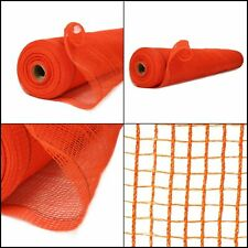 4 ft x 150 ft. Orange Safety Netting Fire Resistant Barrier Fencing Construction