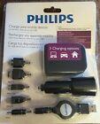 Philips Multi Brand Cellphone Charger Kit - LG Samsung Nokia Micro/Mini USB