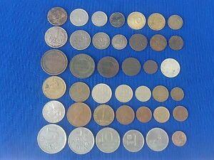 Vintage  Coin MIX world 40 pieces - Monety MIX swiat 40 sztuk.