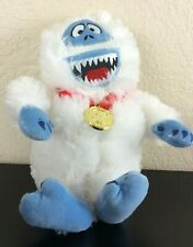 """Rudolph the Red-Nosed Reindeer, 12"""" Bumble Abominable Snowman """"50 Years"""" Plush"""