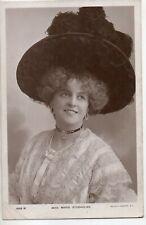 70250 Orig 1905 RPPC PC British Theatre Actress Miss Marie Studholme picture hat