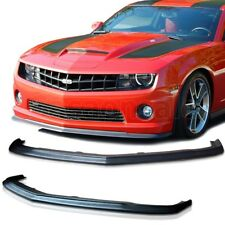 Fit for 10-13 CHEVY CAMARO SS V8 Only SLP ZL1 Style Front PU Bumper Add-on Lip
