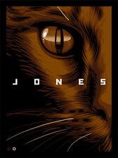 Cat Eye Alien Reflection Aliens Movie Franchise Interpretive Silk Screen Art