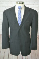 Nautica Mens Gray GLEN PLAID CHECK Wool Classic Fit Sport Coat Blazer Jacket 44R