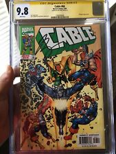 Cable #68 CGC 9.8 SS Joe Casey 1999 THE AVENGERS Jose Ladronn