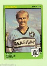 Scanlens Steve Rogers NRL & Rugby League Trading Cards