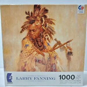 Larry Fanning, 1000 Piece Puzzle, War Shirt of the Morning Star, American Indian