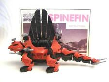Zoids Zoid Vintage OER 1988 SPINEFIN 100% Complete VERY RARE HTF + Copy Sheet