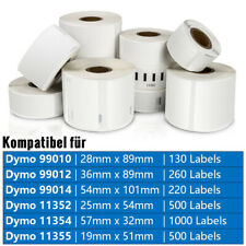 Etiketten Rolle Kompatibel zu Dymo Labelwriter 450 Turbo 320 400 Duo Twin Turbo