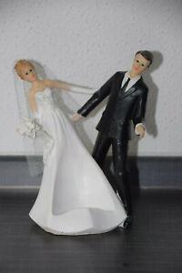 Tortenfigur Hochzeit Brautpaar Tortenaufsatz Hochzeitstorte Hochzeitspaar