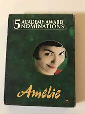 Amelie (Dvd 2003) - Audrey Tautou - Mathieu Kassovitz - Jamel Debbouze