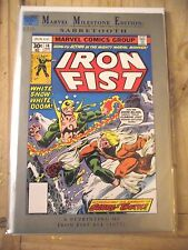 Marvel Milestone Edition Iron Fist #14 1st Sabretooth reprint VF