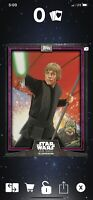 Topps Star Wars Card Trader 2019 CTI Wave 3 Luke Skywalker 125cc Purple Digital