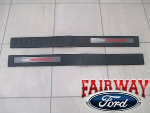 15 thru 20 F-150 OEM Ford Performance RAPTOR Door Sill Plate Set - EXTENDED CAB