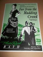 "THEATRE ROYAL BATH "" FAR FROM THE MADDING CROWD "" THEATRE HANDBILL / FLYER 1991"