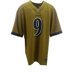 Baltimore Ravens Justin Tucker 9 Official NFL Nike Kids Youth Size Jersey New
