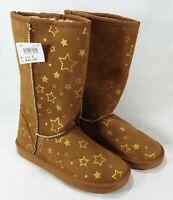 Airwalk EMMA Star Cognac Cozy Boot Junior Girls Shoes Size: 3 NEW