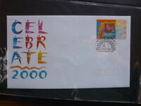 AUSTRALIA 1999 CELEBRATE 2000 HOLOGRAM STAMP FDC FIRST DAY COVER