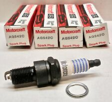 Motorcraft FORD OE Spark Plugs AGS42C - LOT of 4 Plugs *NOS See pics*