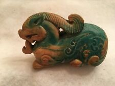 Ancient Chinese Hand Carved Natural Jade Animal Statue 618 AD - 907 AD