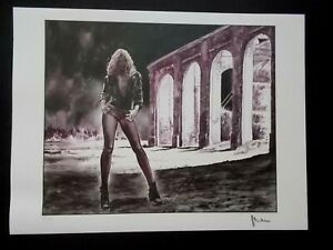 Milo Manara  ( Art Print )  Epreuve d' Artiste  signée au crayon