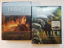 Alien 1-6 Collection +Hobbit Extended Cut Trilogy (15x Blu-ray sets, NO DIGITAL)