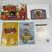 Pokemon Snap N64 Nintendo 64 Complete Tested Works #0977