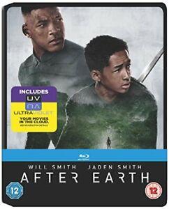 After Earth - Limited Edition Steelbook [Blu-ray] [2013] [DVD][Region 2]