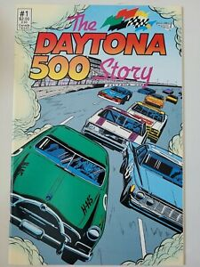 THE DAYTONA 500 STORY #1 (1991) VORTEX COMICS 1ST PRINT! HERB TRIMPE ART!