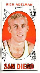 1969-70 TOPPS TALL BOY RICK ADELMAN ROOKIE