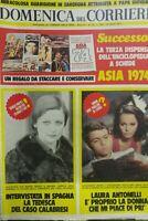 DOMENICA DEL CORRIERE N.12 1974 LAURA ANTONELLI