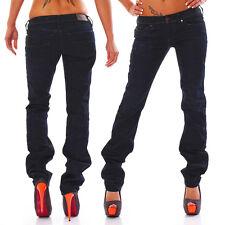 Diesel Jeans Lowky 0808N Regular Straight low waist dunkelblau Neu