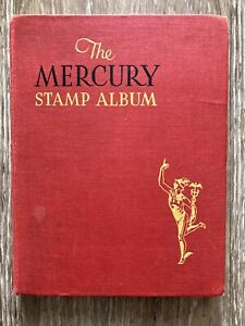 The Mercury Stamp Album by Stanley Gibbons Old Collection of World and Uk Stamps