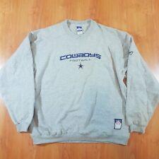 Reebok Dallas Cowboys Crewneck Sweater Vintage NFL Football (Size Mens XL)