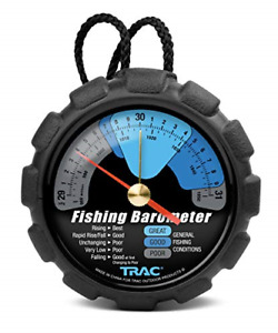 Trac Outdoors Fishing Barometer - Track Pressure Trends for Fishing Success -