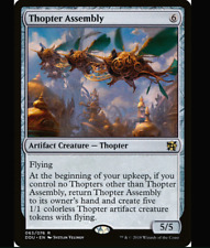 Magic the Gathering 2 THOPTER ASSEMBLY x2 MTG Duel Deck Elves vs Inventors