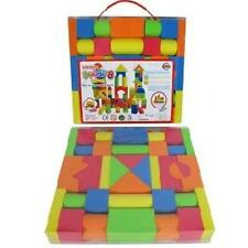 Colorful Soft EVA Foam Building Blocks Bricks Set Children Kids Play Toys