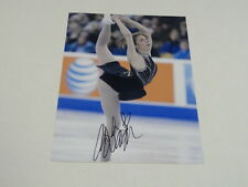ASHLEY WAGNER SIGNED 8.5X11 PHOTO 2014 OLYMPICS FIGURE SKATING SOCHI PROOF
