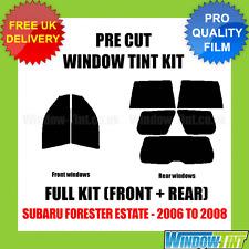 SUBARU FORESTER ESTATE 2006-2008 FULL PRE CUT WINDOW TINT KIT