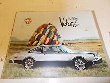 Plymouth Volare (NOS) Sales Brochure 1977