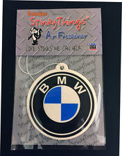 BMW CAR AIR FRESHENER * FRESH SCENT * sticker boost shirt 3 5 7 series interior