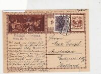 austria 1930  stamps card ref 20948