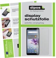 2x Folie für ZTE Blade A3 Prime Schutzfolie matt Displayschutz Display Schutz
