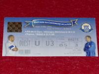 [COLLEZIONE SPORT CALCIO] TICKET FRANCIA / BRASILE 20 MAI 2004 CENTENARIO FIFA