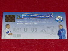 [COLLECTION SPORT FOOT] TICKET FRANCE / BRESIL 20 MAI 2004 CENTENAIRE FIFA