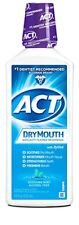 ACT DryMouth Anticavity Rinse, Soothing Mint, 18 oz (2 Pack)