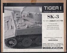 MODELKASTEN SK-3 - TIGER I TRANSPORT TRACK - CINGOLI TRACKS - 1/35 PLASTIC KIT